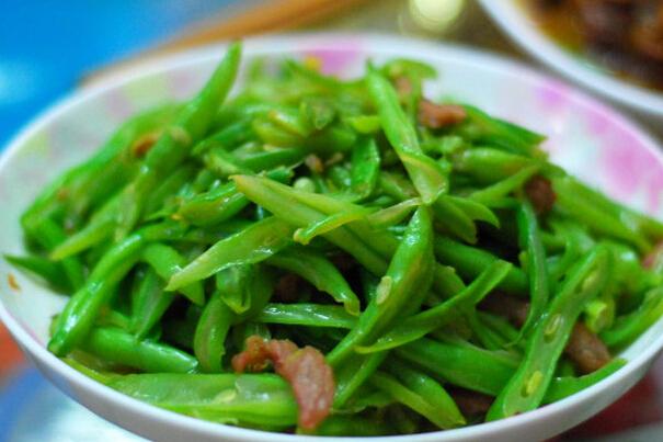 果蔬百科干煸芸豆和炒芸豆的区别